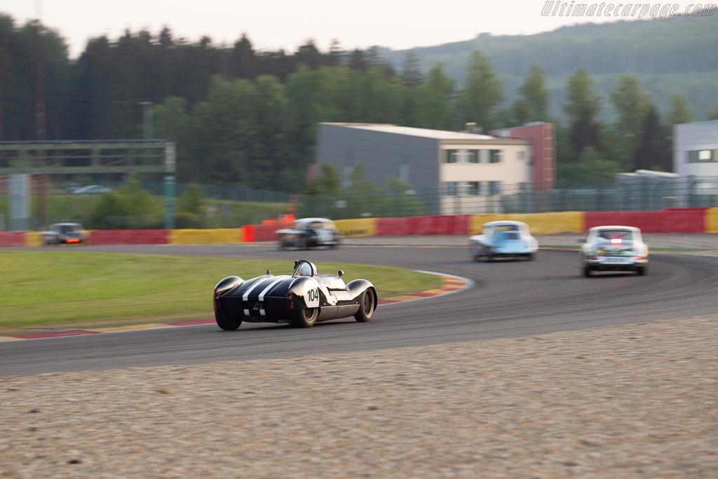 Cooper T49 Monaco - Chassis: CM/6/59 - Driver: Olivier Blanpain / Vincent Janssen - 2018 Spa Classic