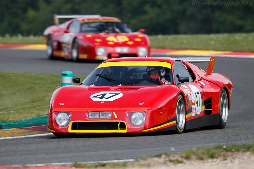 Ferrari 512 BB/LM - Chassis: 44023 - Driver: Jeremy Lancksweert / Christophe van Riet  - 2018 Spa Classic