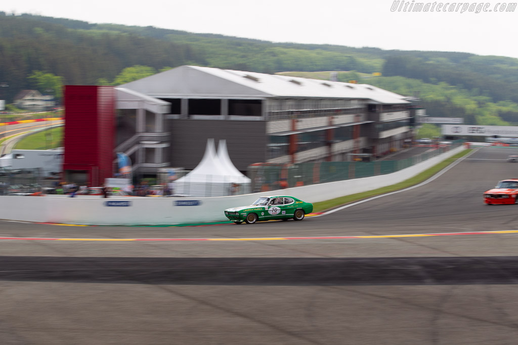 Ford Capri 2600 RS - Chassis: BBECNS34576 - Driver: Geoffroy Peter / Raynald Hautot  - 2018 Spa Classic