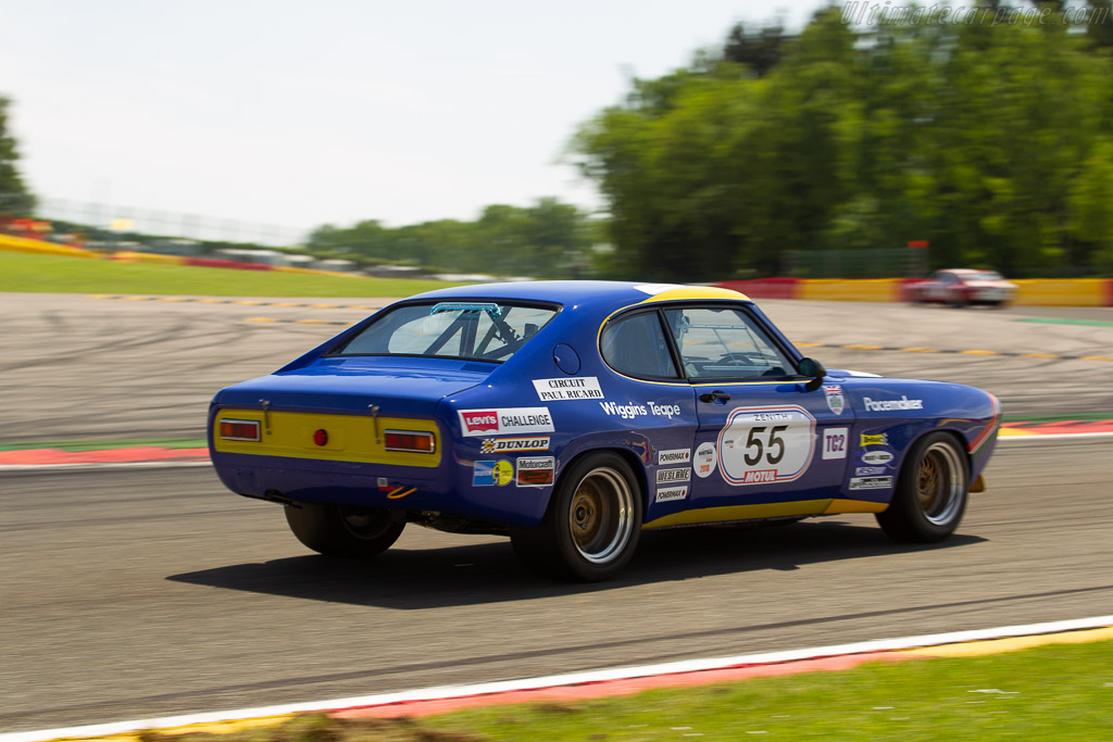 Ford Capri 2600 RS - Chassis: GCECML55327 - Driver: Oliver Bryant / Graeme Bryant  - 2018 Spa Classic