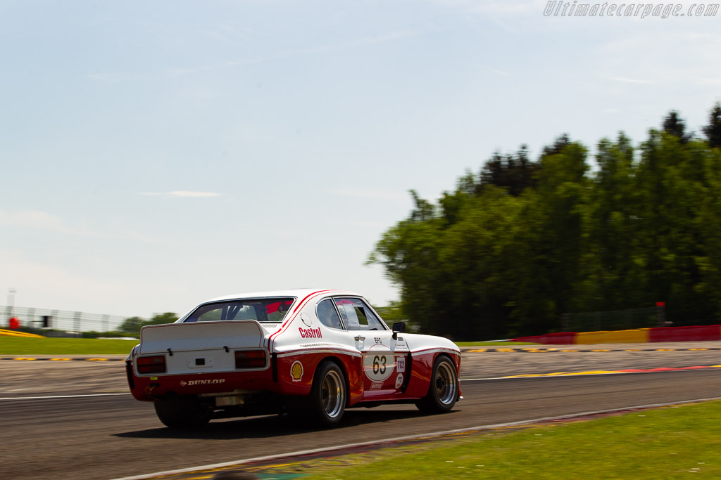 Ford Capri 3100 RS  - Driver: Gérard Lopez / Richard Meaden  - 2018 Spa Classic