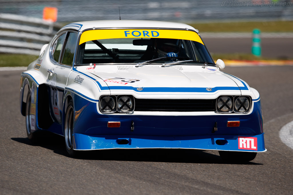 Ford Capri 3100 RS - Chassis: CGAECNA19997 - Driver: Zak Brown / Richard Dean  - 2018 Spa Classic