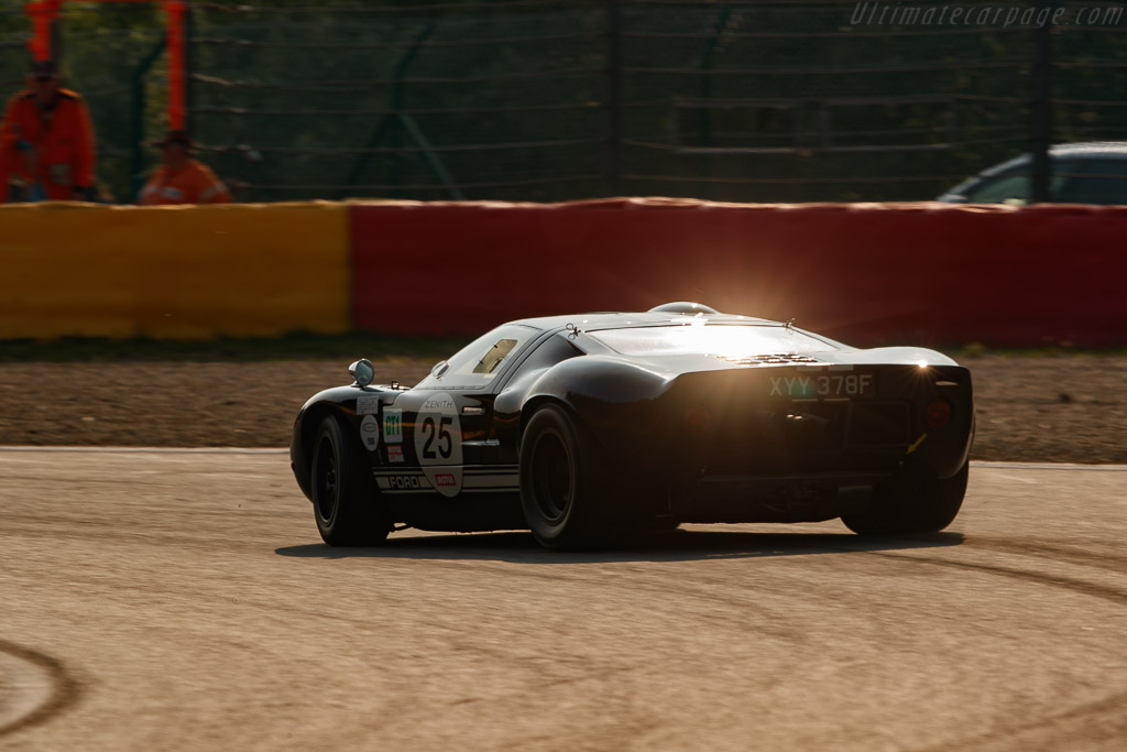 Ford GT40 - Chassis: GT40P/1088 - Driver: Patrick Hautot  - 2018 Spa Classic