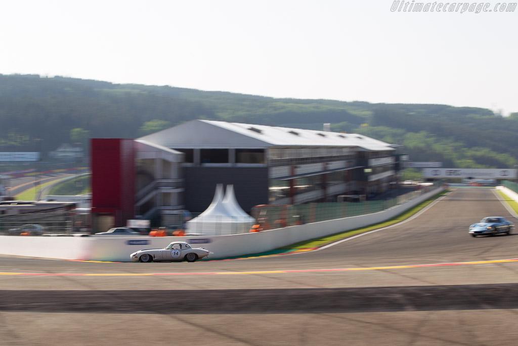 Jaguar E-Type Lightweight  - Driver: Carlos Monteverde  - 2018 Spa Classic