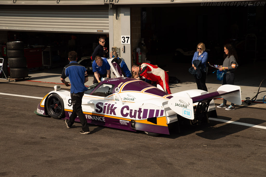 jaguar xjr-11 - chassis: 189 - driver: ivan vercoutere/ alex müller