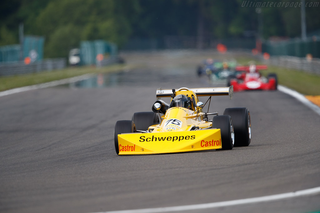 March 752 - Chassis: 75B-10 - Driver: Philippe Scemama  - 2018 Spa Classic