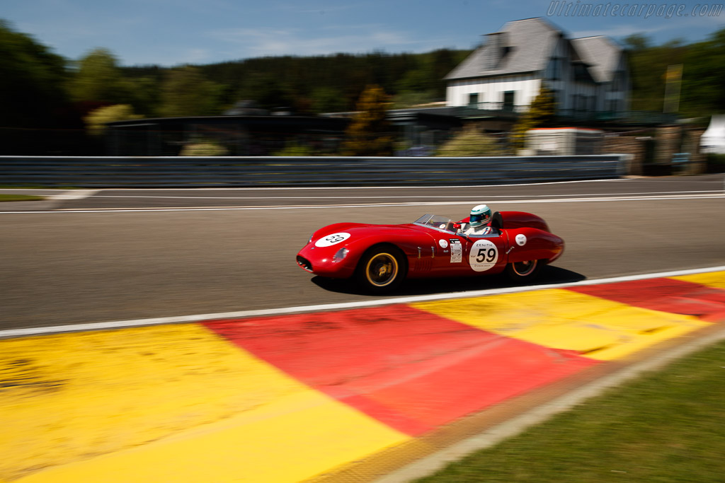 Osca 2000S - Chassis: 2006 - Driver: Gaby von Oppenheim  - 2018 Spa Classic