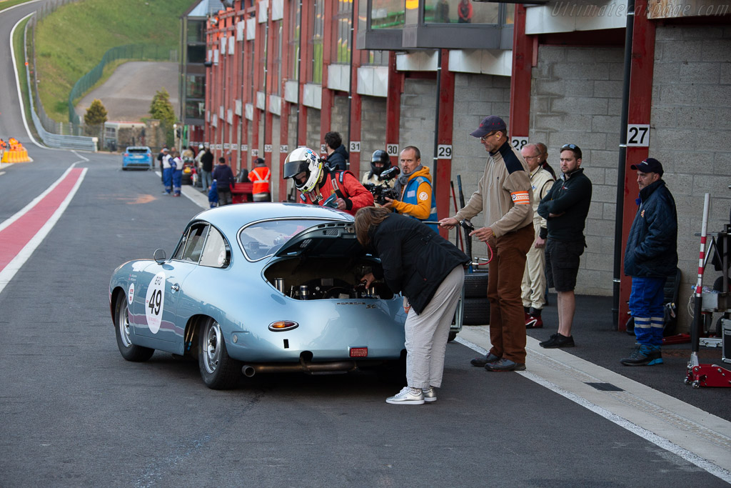 Porsche 356 SC - Chassis: 131928 - Driver: Bill Stephens / Will Stephens - 2018 Spa Classic