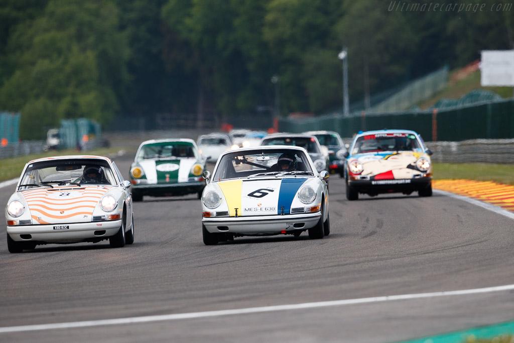 Porsche 911 - Chassis: 305515 - Driver: Lee Maxte-Page  - 2018 Spa Classic