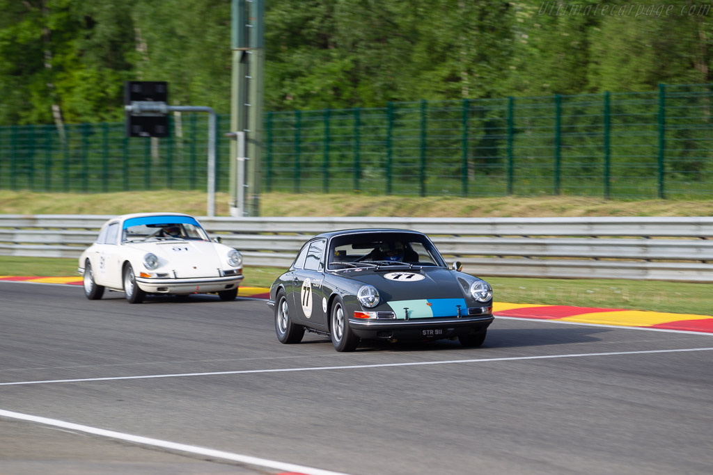 Porsche 911  - Driver: Mark Sumpter  - 2018 Spa Classic