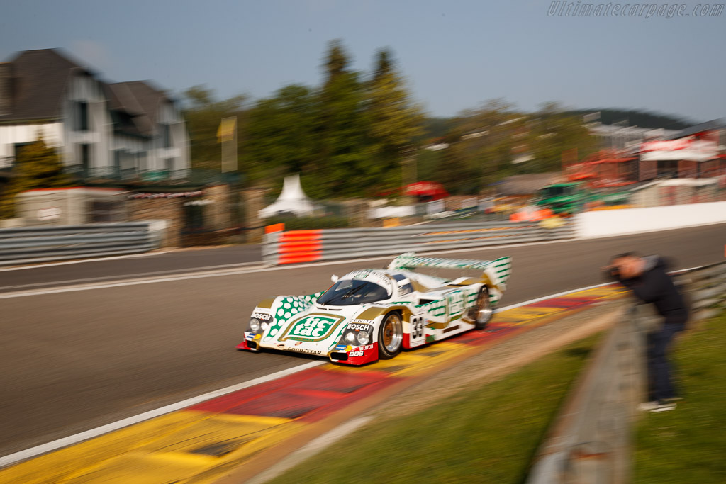 Porsche 962C - Chassis: 962-141 - Driver: Henrik Lindberg  - 2018 Spa Classic