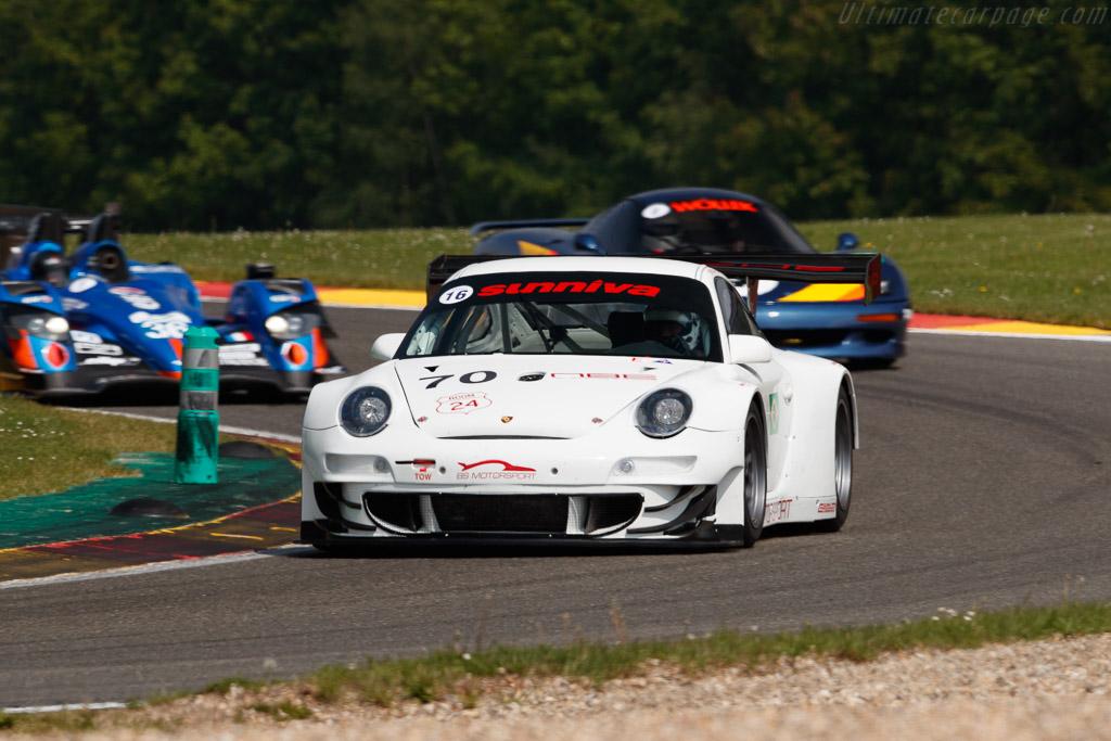 Porsche 997 GT3 RSR  - Driver: Paul Phillips  - 2018 Spa Classic