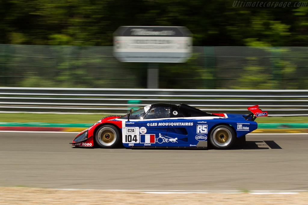 Spice SE89C - Chassis: SE89C-002 - Driver: Philippe Scemama  - 2018 Spa Classic