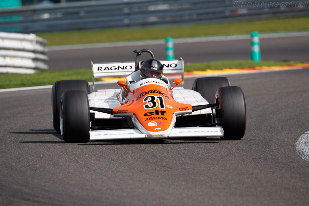 Arrows A4 - Chassis: A4-4 - Driver: James Hartley  - 2018 Spa Six Hours