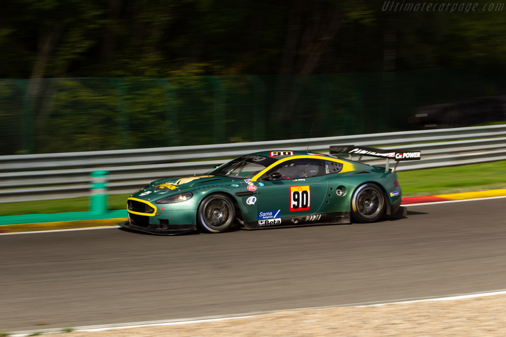 Aston Martin DBR9 - Chassis: DBR9/102 - Driver: Nikolaus Ditting - 2018 Spa Six Hours