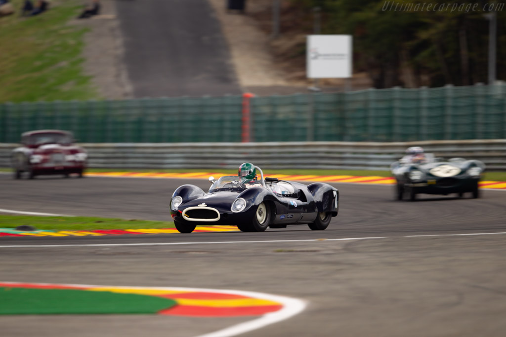 Cooper T49 - Chassis: RAC 10-7-59 - Driver: Tarek Mahmoud / Cyril Bustros  - 2018 Spa Six Hours