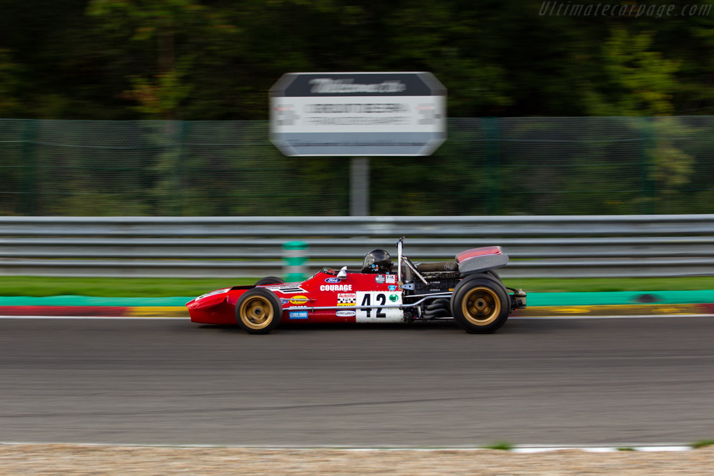De Tomaso 505 - Chassis: 505-383 - Driver: Paul Grant  - 2018 Spa Six Hours
