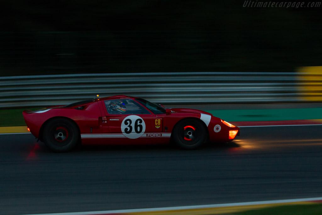 Ford GT40  - Driver: Charlie Birkett / Joe Twyman  - 2018 Spa Six Hours
