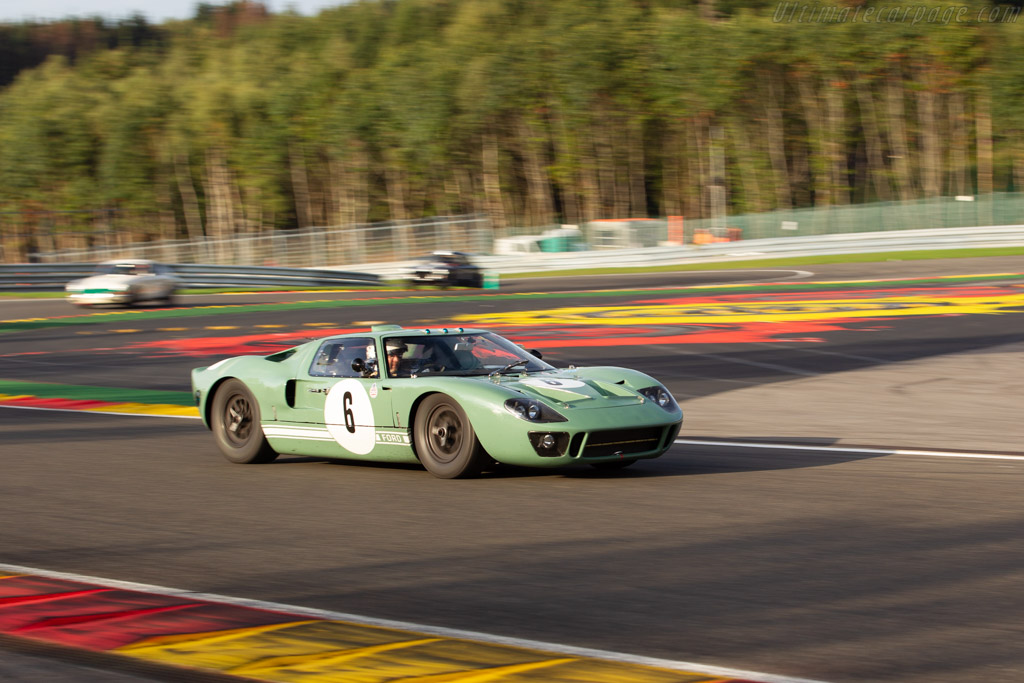 Ford GT40  - Driver: Jason Wright / Michael Gans / Andy Wolfe  - 2018 Spa Six Hours