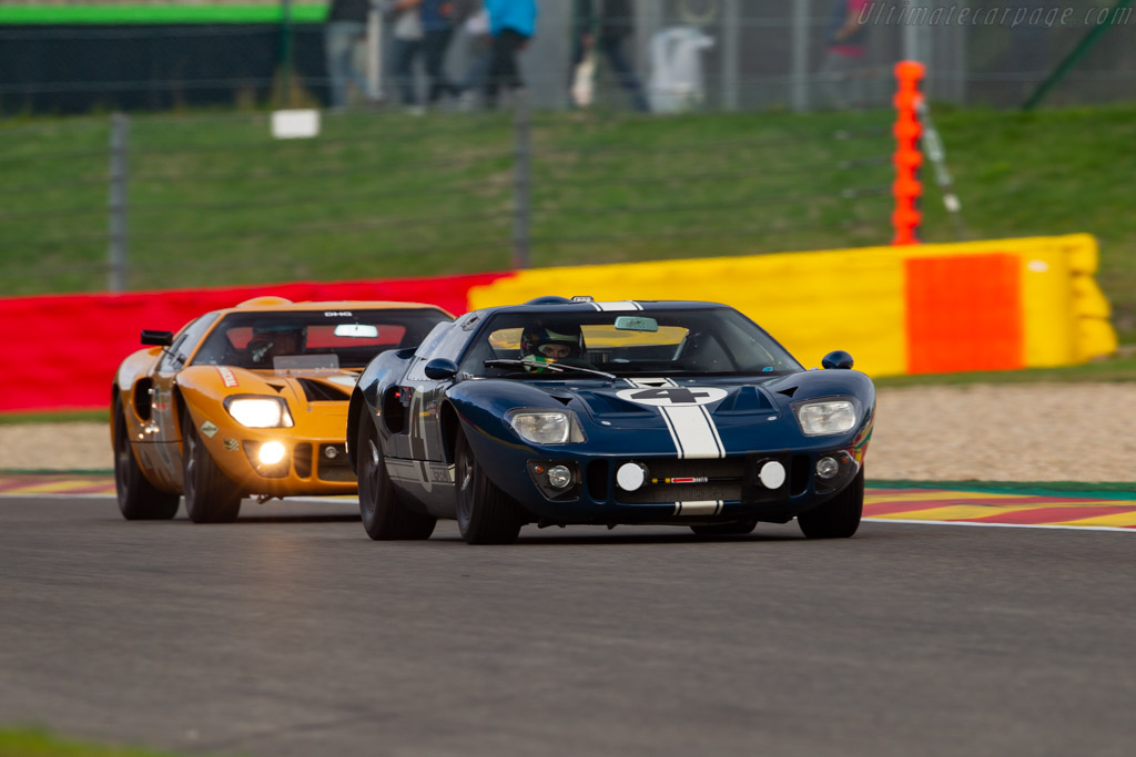 Ford GT40 - Chassis: GT40P/1055 - Driver: Gavin Henderson / Rory Henderson / Darren Turner - 2018 Spa Six Hours