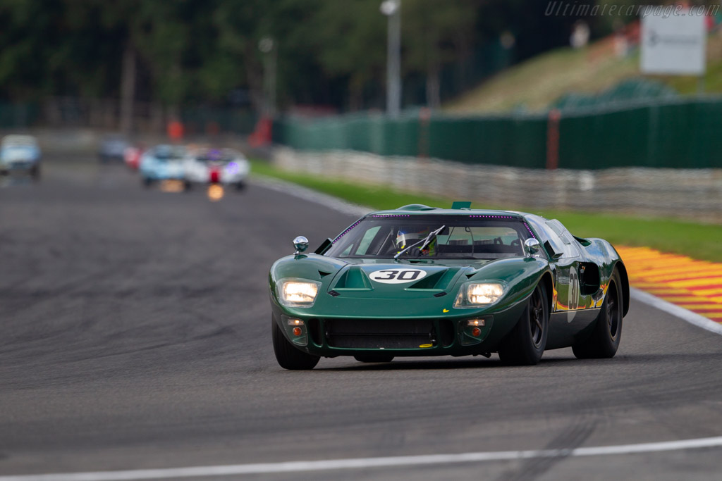Ford GT40  - Driver: Marcus Count Oeyenhausen / Nico Verdonck  - 2018 Spa Six Hours