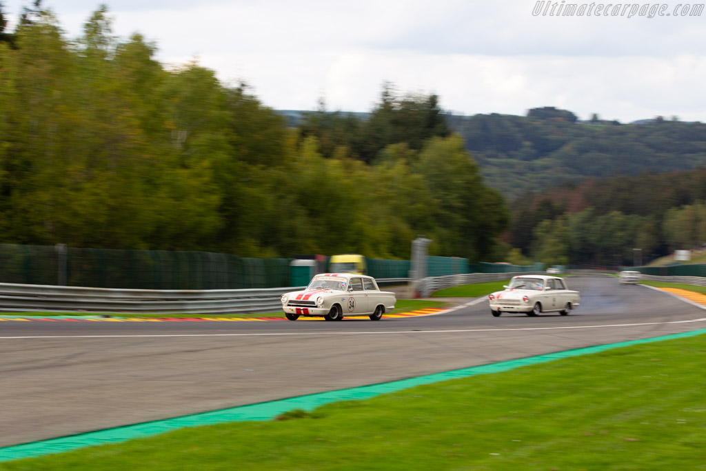 Ford Lotus Cortina Mk1  - Driver: Andy Wolfe / Shaun Balfe  - 2018 Spa Six Hours