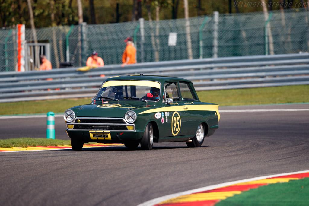 Ford Lotus Cortina Mk1 - Chassis: BA77EK76773 - Driver: Thierry de Latre de Bousqueau  - 2018 Spa Six Hours