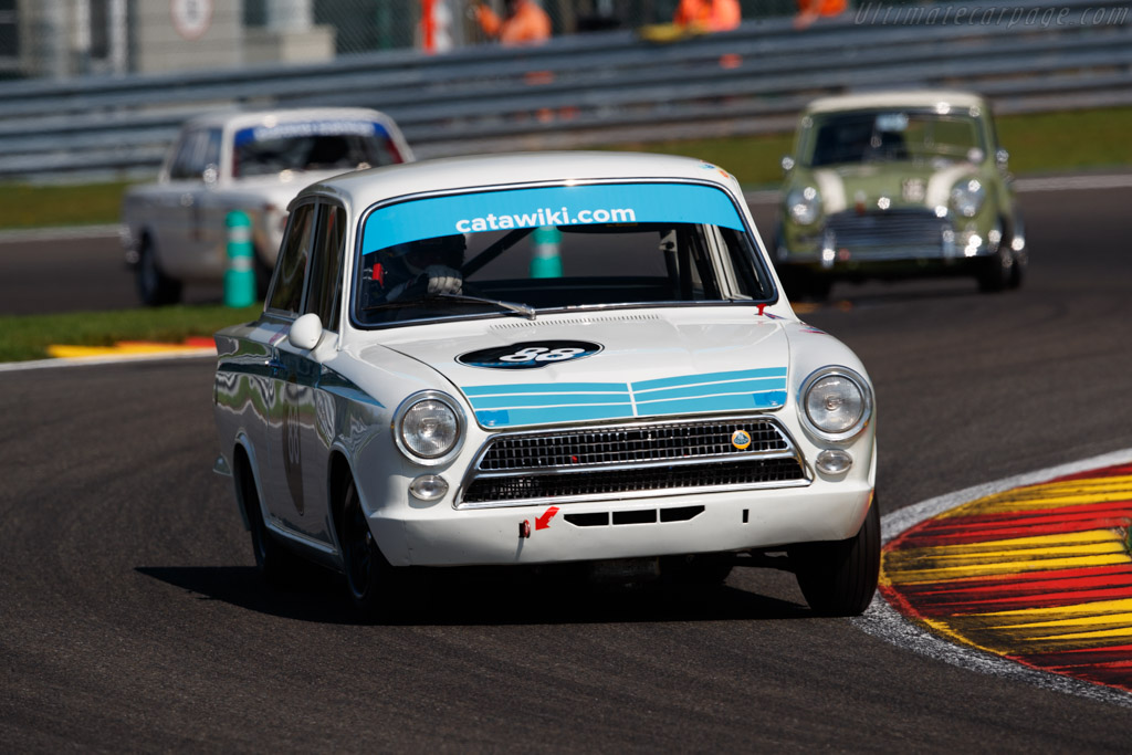Ford Lotus Cortina Mk1  - Driver: Andreas Schluchter / Michael Funke  - 2018 Spa Six Hours