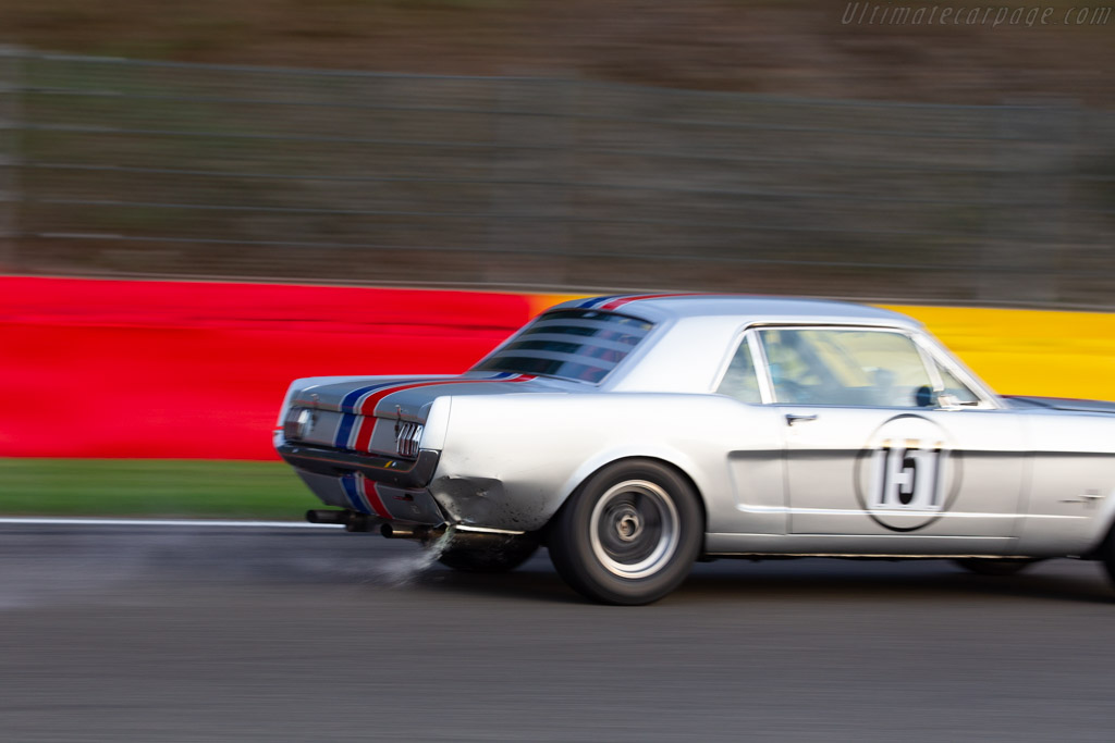 Ford Mustang  - Driver: Paul Clayson / Robert Oldershaw / Georg Kjallgren  - 2018 Spa Six Hours