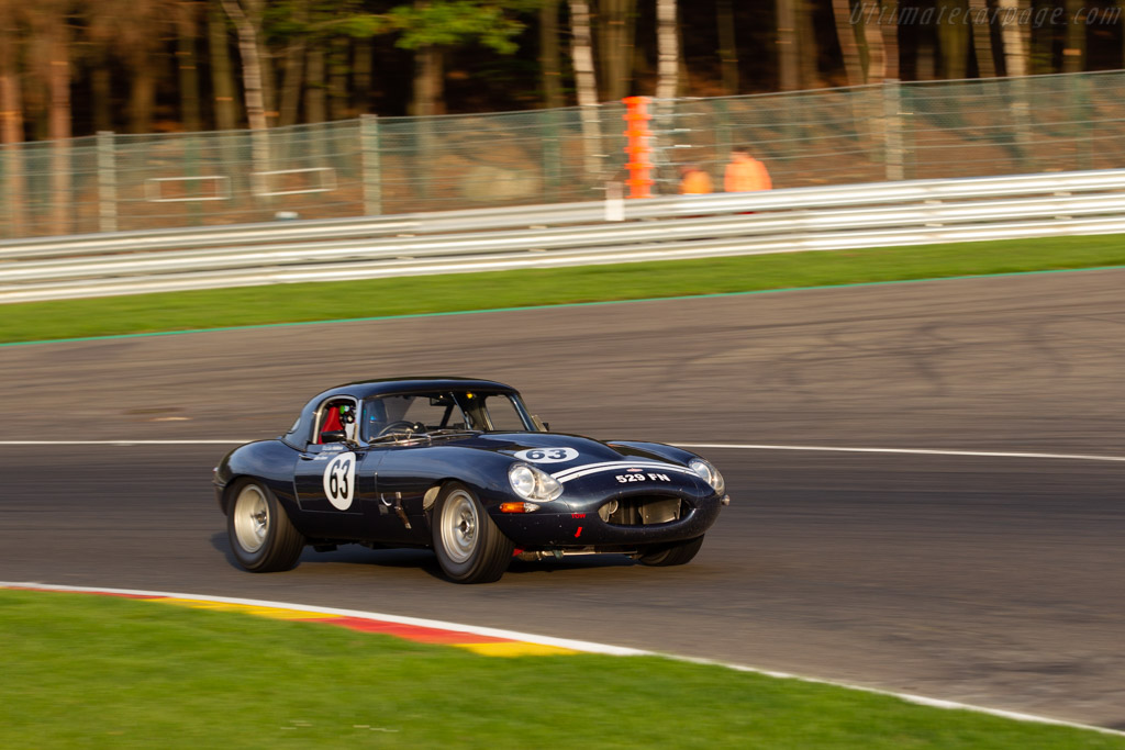 Jaguar E-Type - Chassis: 881192 - Driver: Martin Halusa / Ales Ames / Niklas Halusa  - 2018 Spa Six Hours