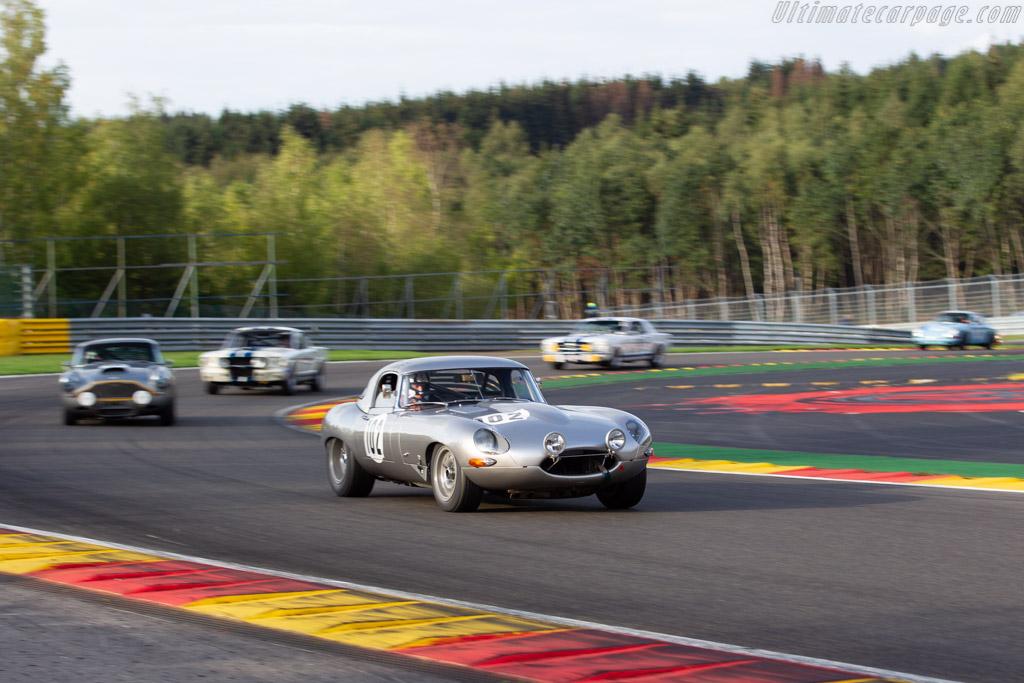 Jaguar E-Type  - Driver: Jean-Michel Poncelet / Pascal Delporte / Guy Fastres  - 2018 Spa Six Hours