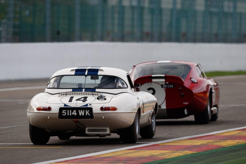 Jaguar E-Type  - Driver: Carlos Monteverde / Gary Pearson  - 2018 Spa Six Hours