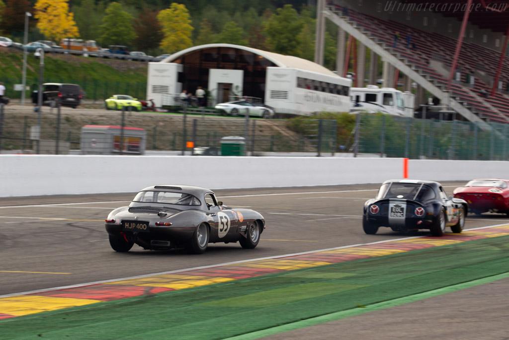Jaguar E-Type  - Driver: John Pearson / Gary Pearson  - 2018 Spa Six Hours