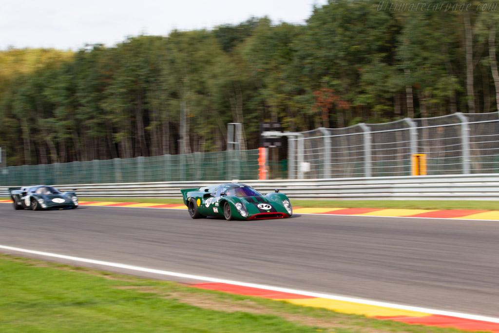 Lola T70 MkIIIB - Chassis: SL76/147 - Driver: David Hart / Nicky Pastorelli - 2018 Spa Six Hours
