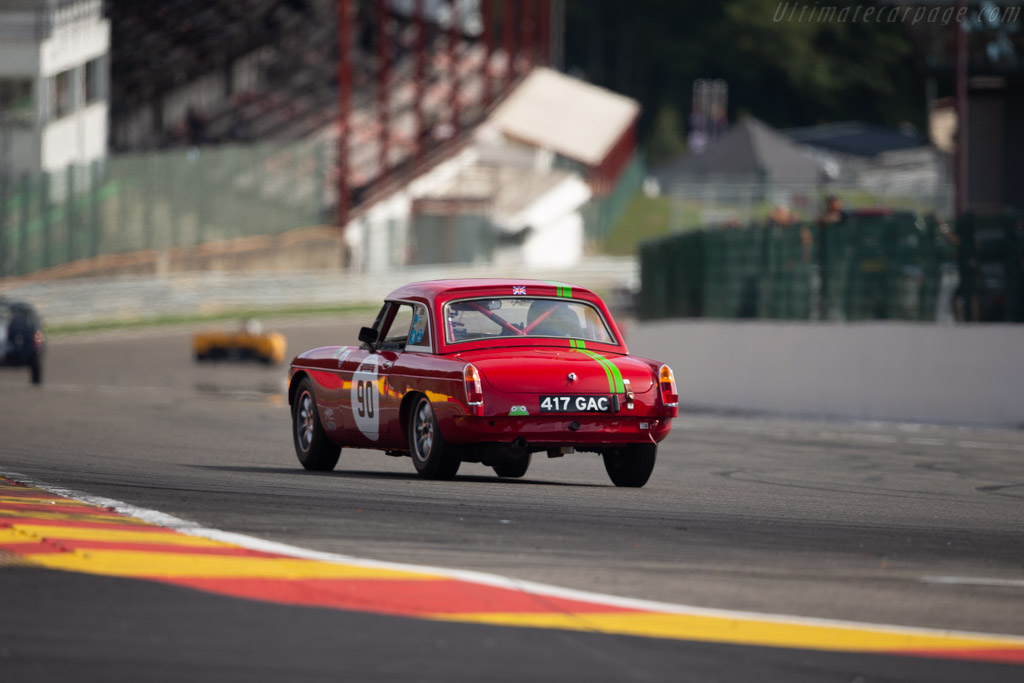 MG B  - Driver: Martin Whitlock  - 2018 Spa Six Hours