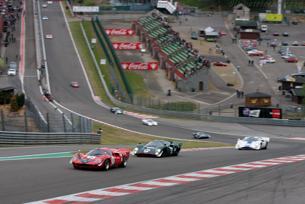 CER 1 Start - Chassis: SL73/110   - 2011 Spa Classic