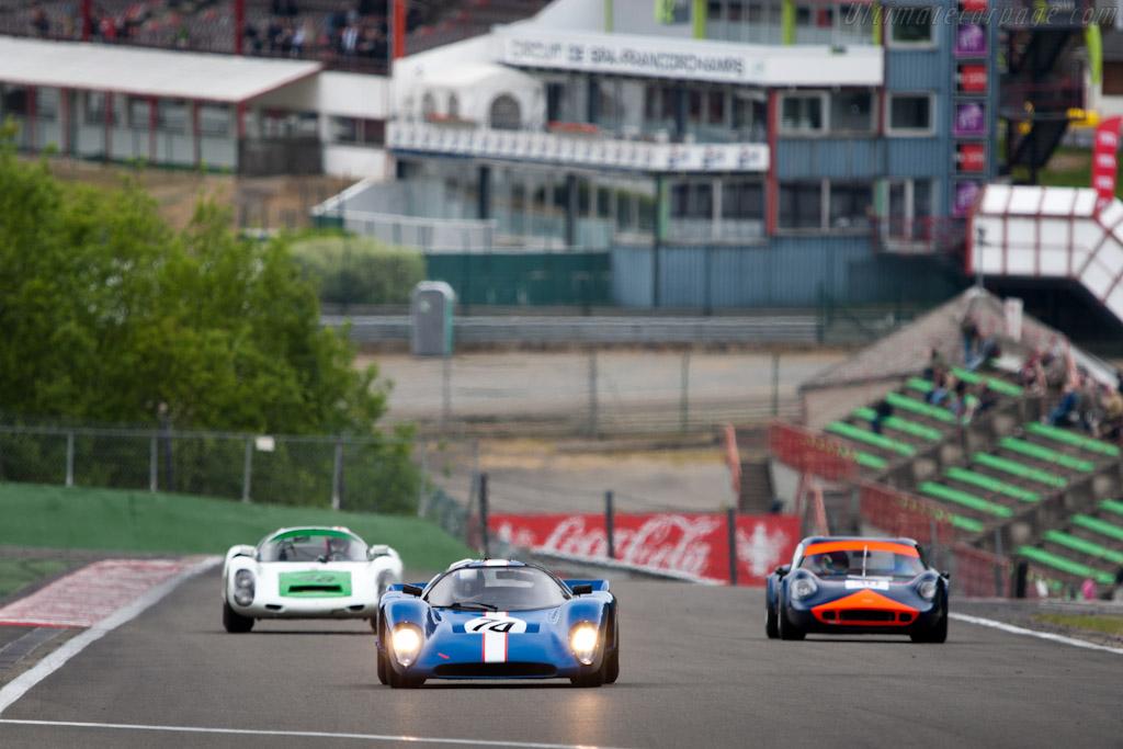 Chevron B16    - 2011 Spa Classic