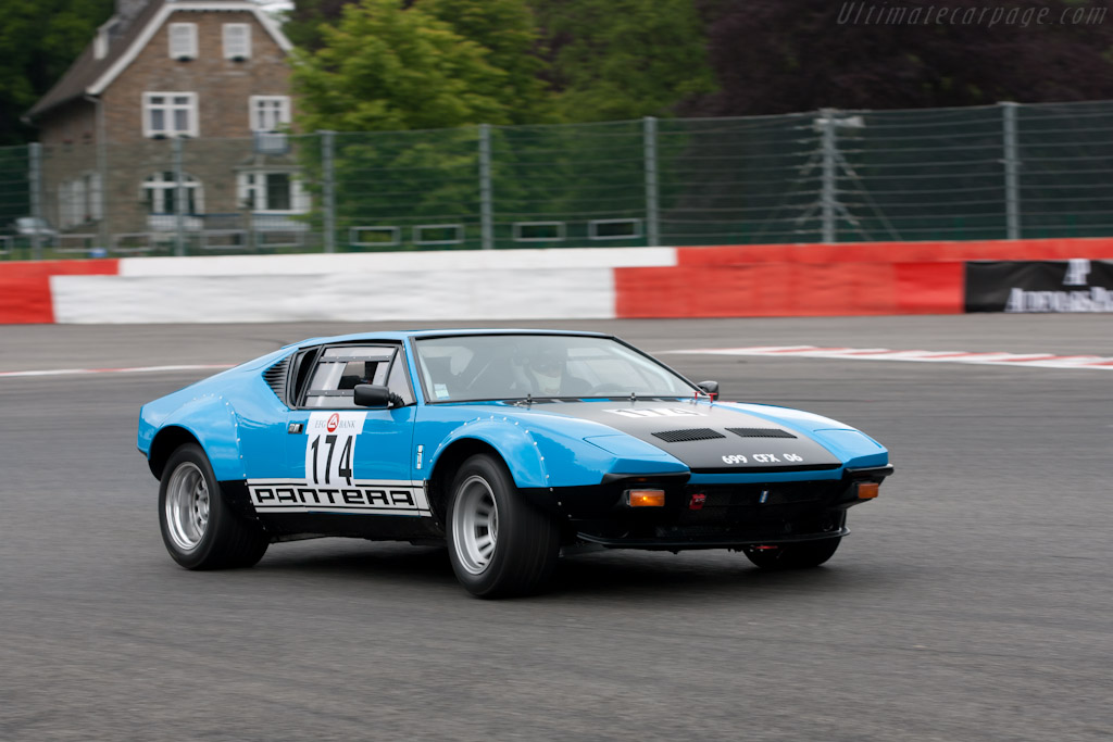 DeTomaso Pantera - Chassis: 05300   - 2011 Spa Classic