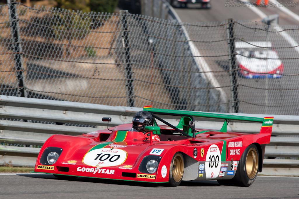 Ferrari 312 PB - Chassis: 0890 - Driver: Paul Knapfield  - 2011 Spa Classic