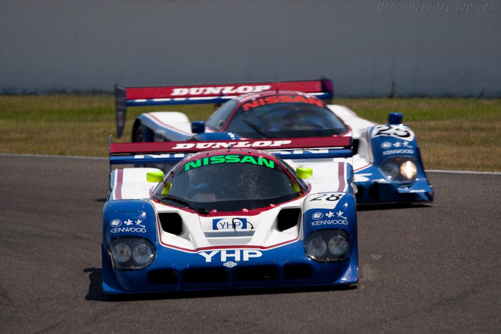 Nissan R90CK - Chassis: R90C/1 - Driver: Kent Abrahamson  - 2011 Spa Classic