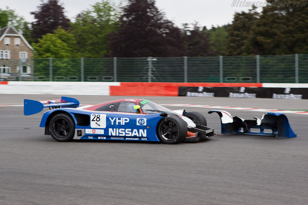 Nissan R90CK - Chassis: R90C/1 - Driver: Kent Abrahamson  - 2011 Spa Classic