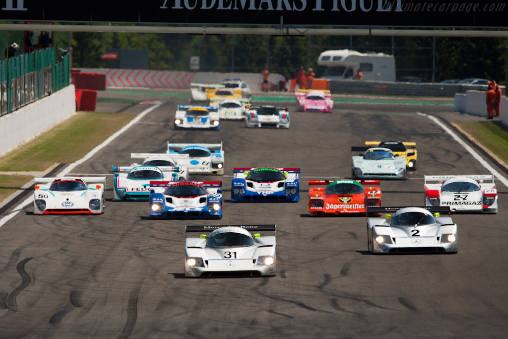 The Start    - 2011 Spa Classic