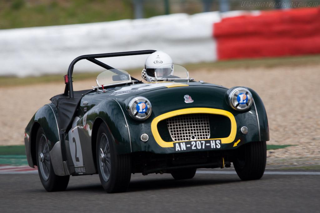 Triumph TR2    - 2011 Spa Classic