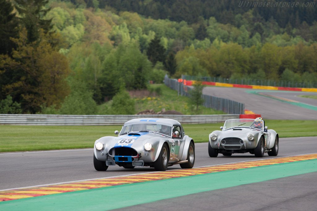 AC Shelby Cobra  - Driver: Karsten Le Blanc  - 2013 Spa Classic