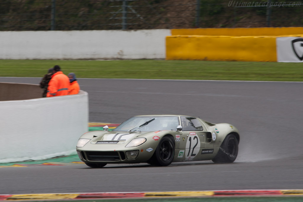 Ford GT40 - Chassis: GT40P/1078   - 2013 Spa Classic