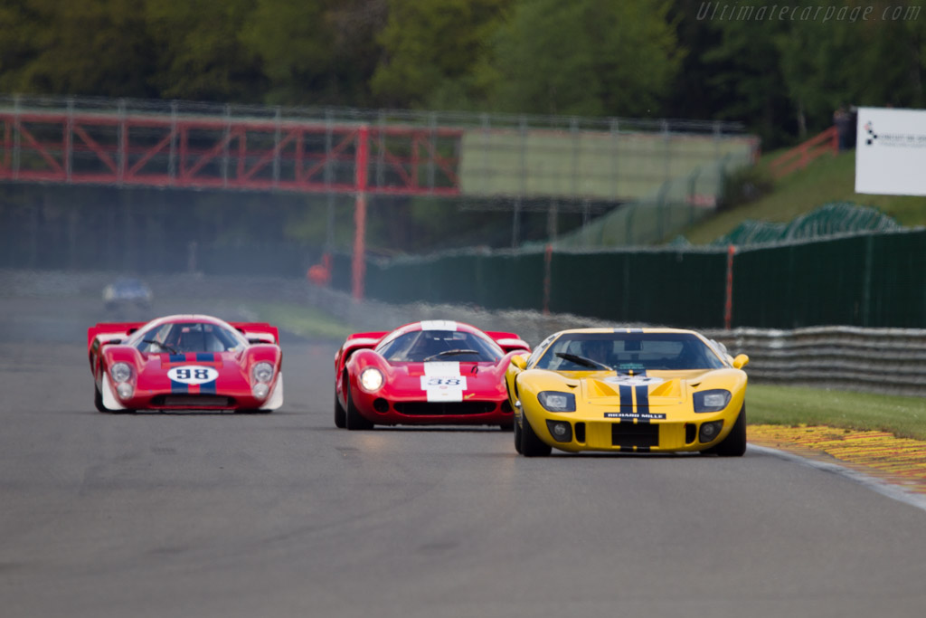 Ford GT40 - Chassis: GT40P/1027   - 2013 Spa Classic
