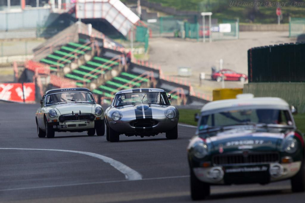 Jaguar E-Type    - 2013 Spa Classic