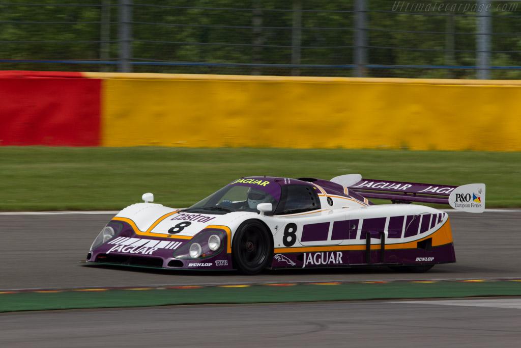 Jaguar XJR-8 - Chassis: J12-C-187 - Driver: Kent Abrahamson  - 2013 Spa Classic