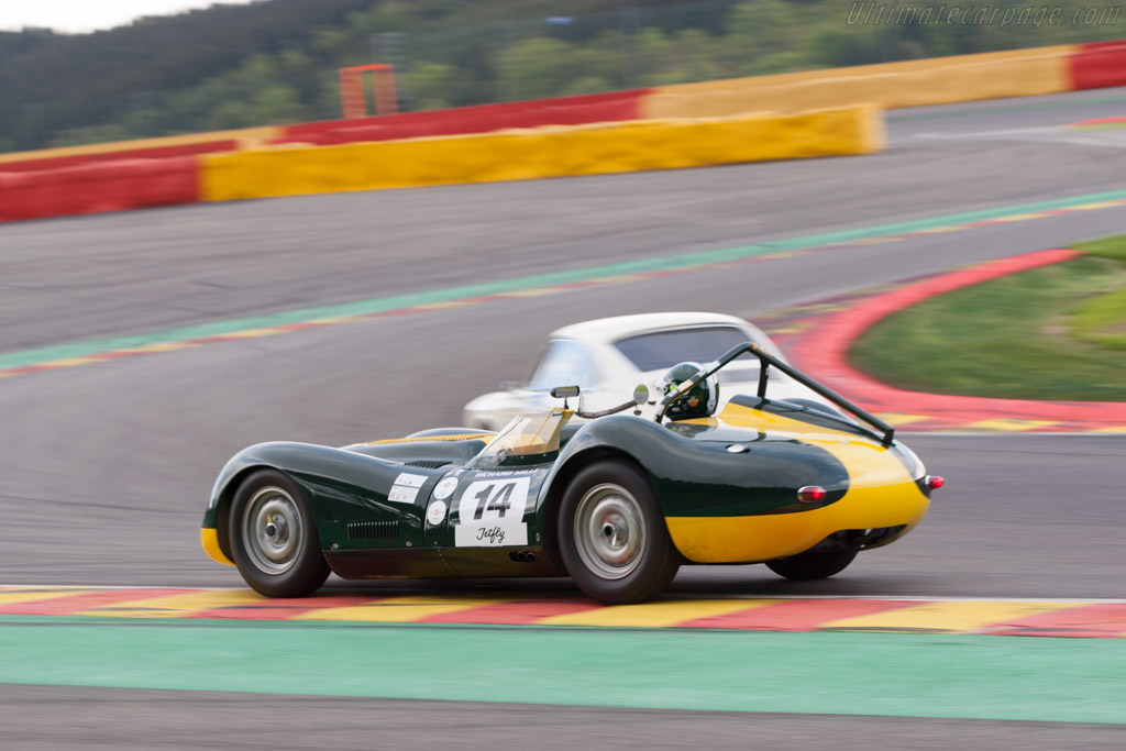 Lister Knobbly Jaguar    - 2013 Spa Classic