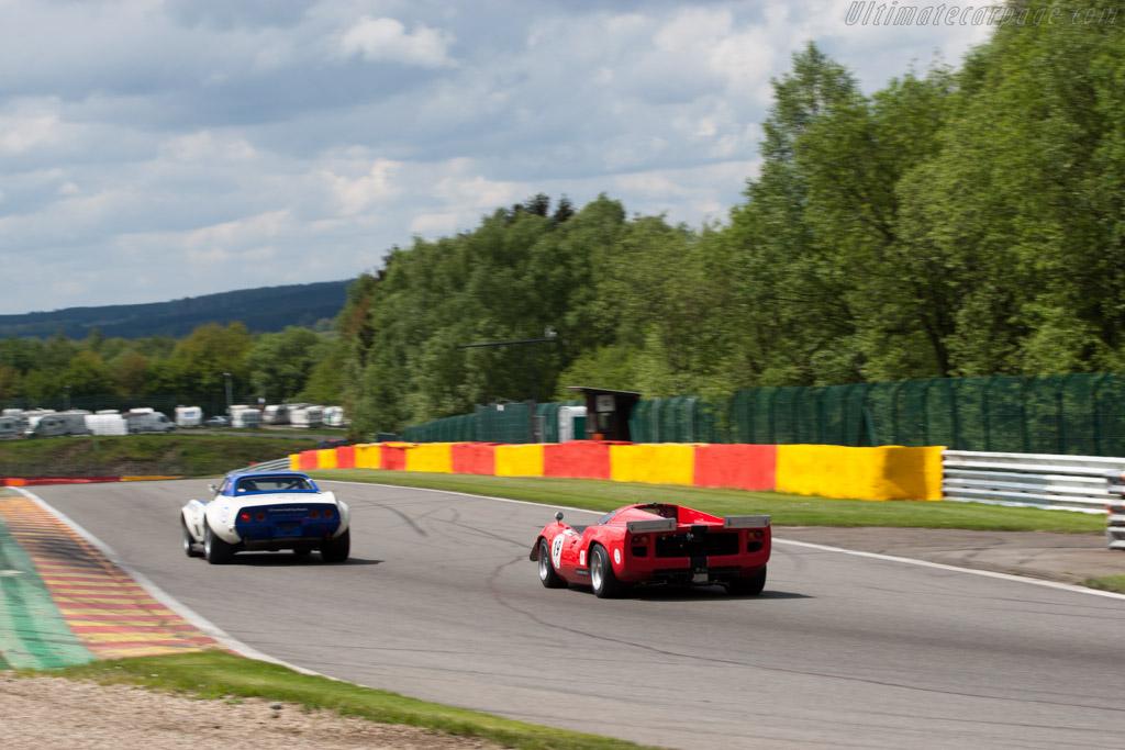 Lola T70 Mk3 - Chassis: SL73/110 - Driver: Bernard Thuner  - 2013 Spa Classic
